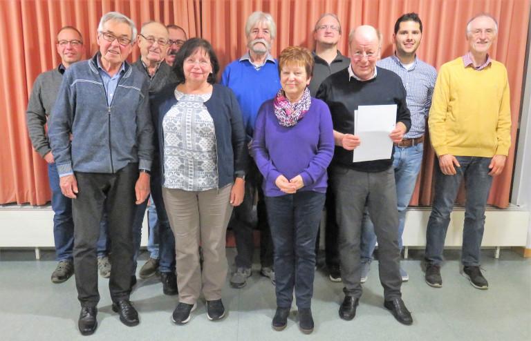 Vorstand des SPD Ortsvereins