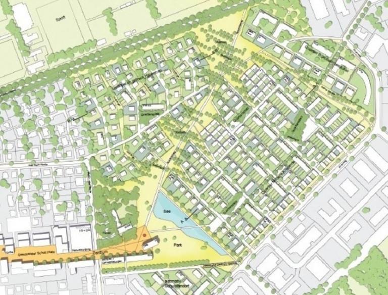 Neubaugebiet Anwandeweg in Nilkheim